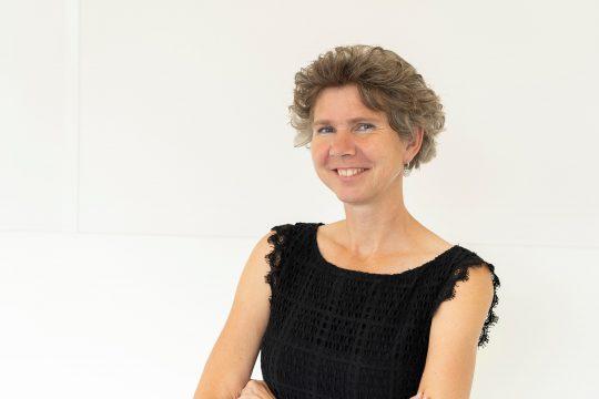 Scriptiebegeleidster Sandra Doeze Jager